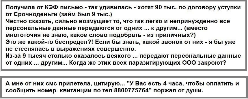 Отзывы-должников-об-организации-ООО-КЭФ