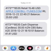 Apple.com/bill – что это, сняли деньги с карты Сбербанка